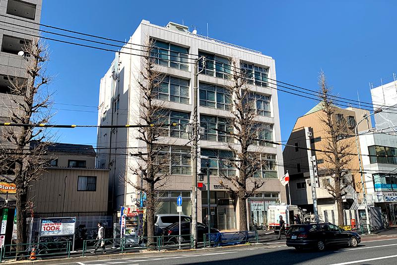 中野警察署仮庁舎